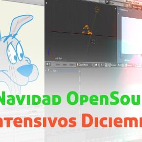 Navidad OpenSource: Cursos Diciembre INTENSIVOS!