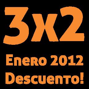 Bienvenido 2012: ¡Oferta 3×2 en todos los cursos de enero!