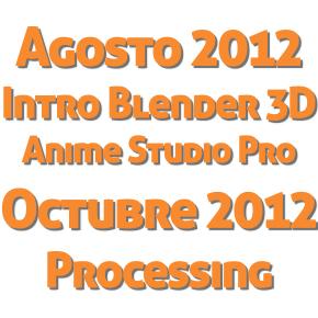 Agosto: 2D, 3D y Processing